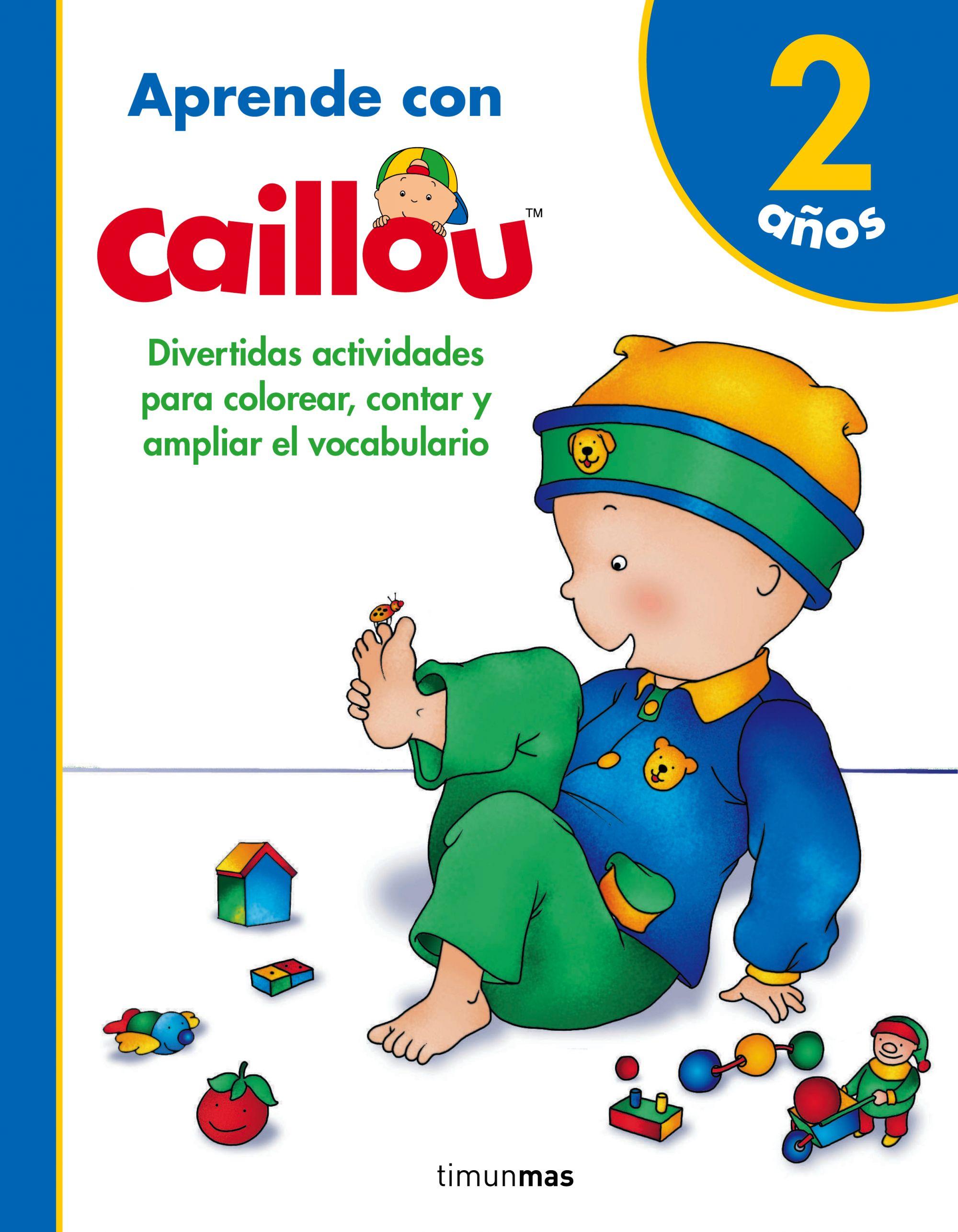 Atractivo Libro De Colorear Caillou Regalo - Enmarcado Para Colorear ...
