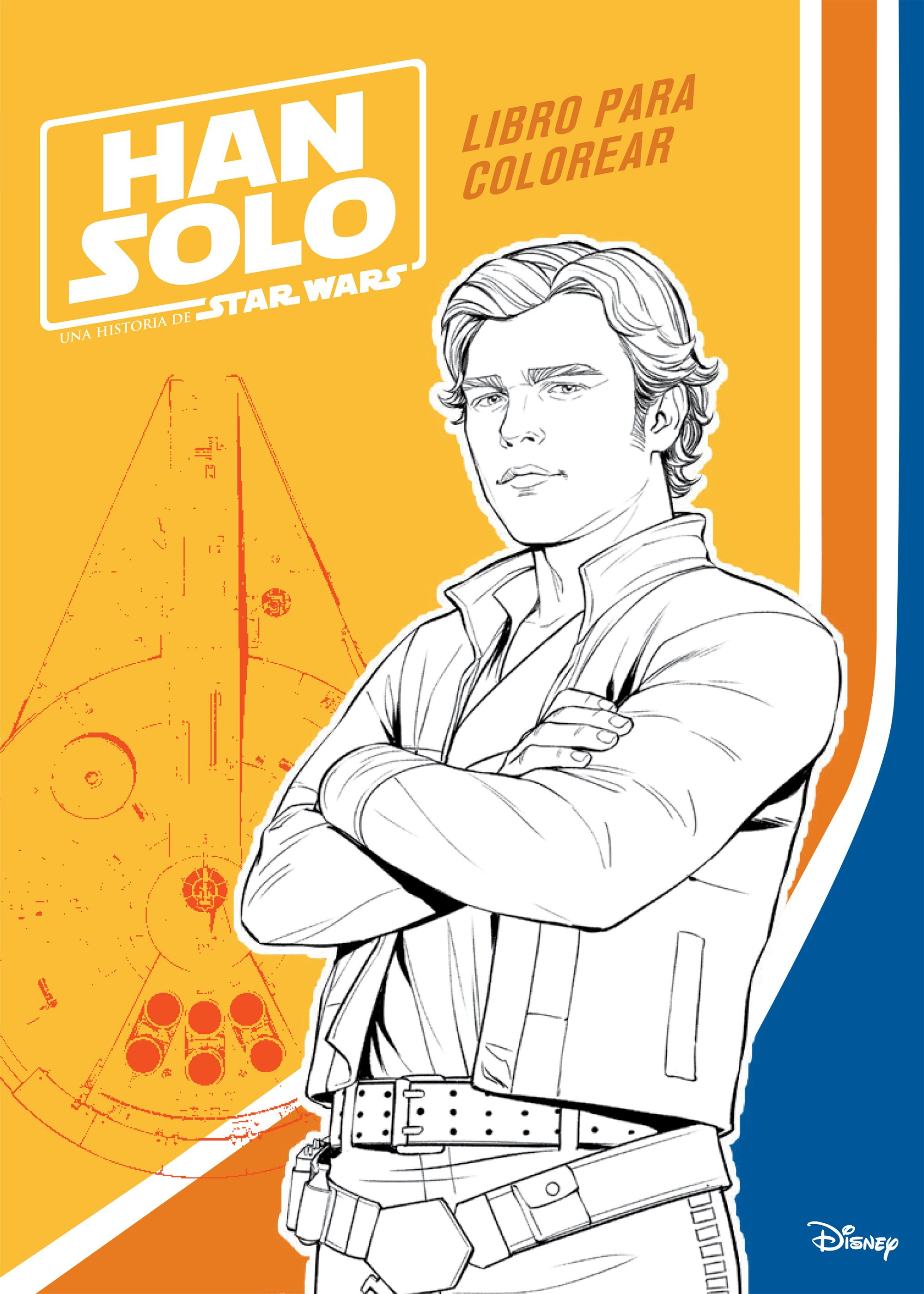 Han Solo. Libro para colorear | Planeta de Libros