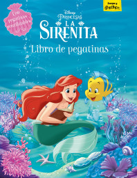 La Sirenita. Libro de pegatinas