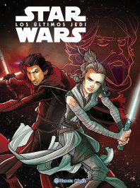 Star Wars Los últimos Jedi (cómic infantil)