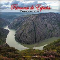 Calendario Rincones de España 2020